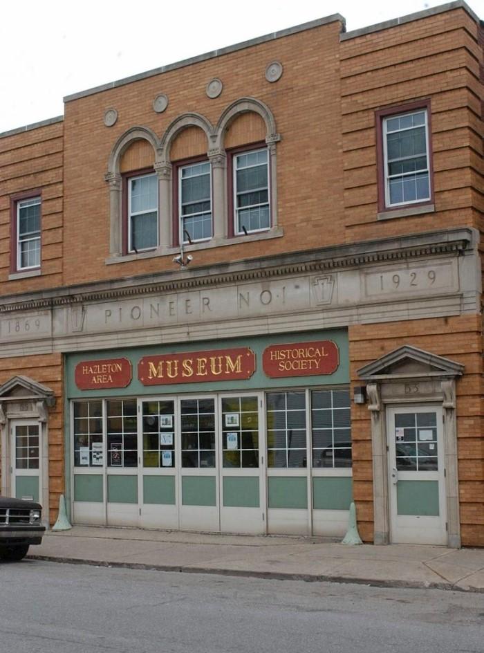 Museum at 55 N. Wyoming St., Hazleton